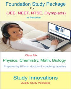 Foundation Math & Science Study Package (10th)
