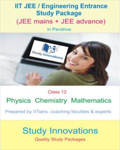 JEE 12th Study Package (PCM)