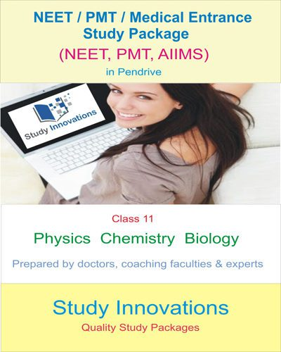 NEET Study Material for class 11th (Physics, Chemistry, Botany & Zoology)