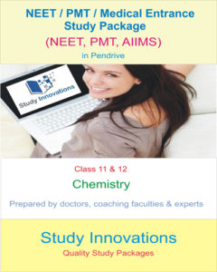 NEET Class 11th & 12th Chemistry Study Package
