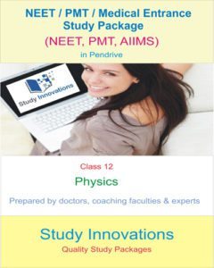 NEET Class 12th Physics Study material