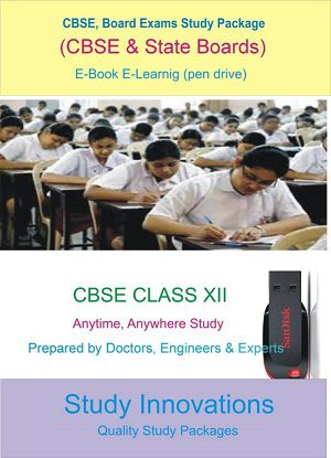 Editable CBSE Class 12th Complete Study MaterialStudy Material, Study Packages, Notes, Books, Question Bank, Test Series, for JEE main, JEE advanced, Foundation, CBSE by Study Innovations