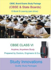 CBSE Class 6th Science (Physics, Chemistry, Biology) & Mathematics Study Material.
