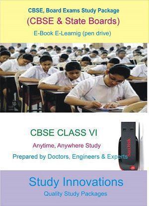 CBSE Class 6th Science (Physics, Chemistry, Biology) & Mathematics Study Material.