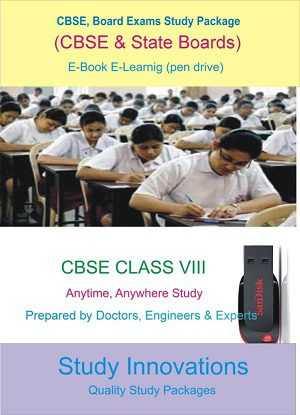 CBSE Class 8th Science (Physics, Chemistry, Biology) & Mathematics Study Material