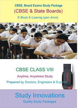 CBSE Class 8th Science (Physics, Chemistry, Biology) & Mathematics Study Material