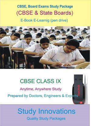 CBSE Class 9th Science (Physics, Chemistry, Biology) & Mathematics Study Material.
