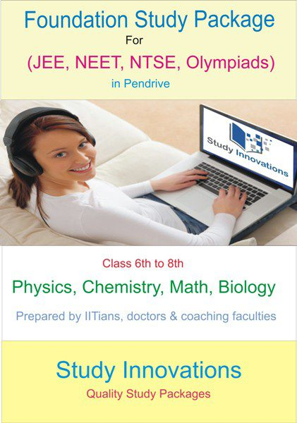 Foundation coaching Study Material Class 6th to 8th