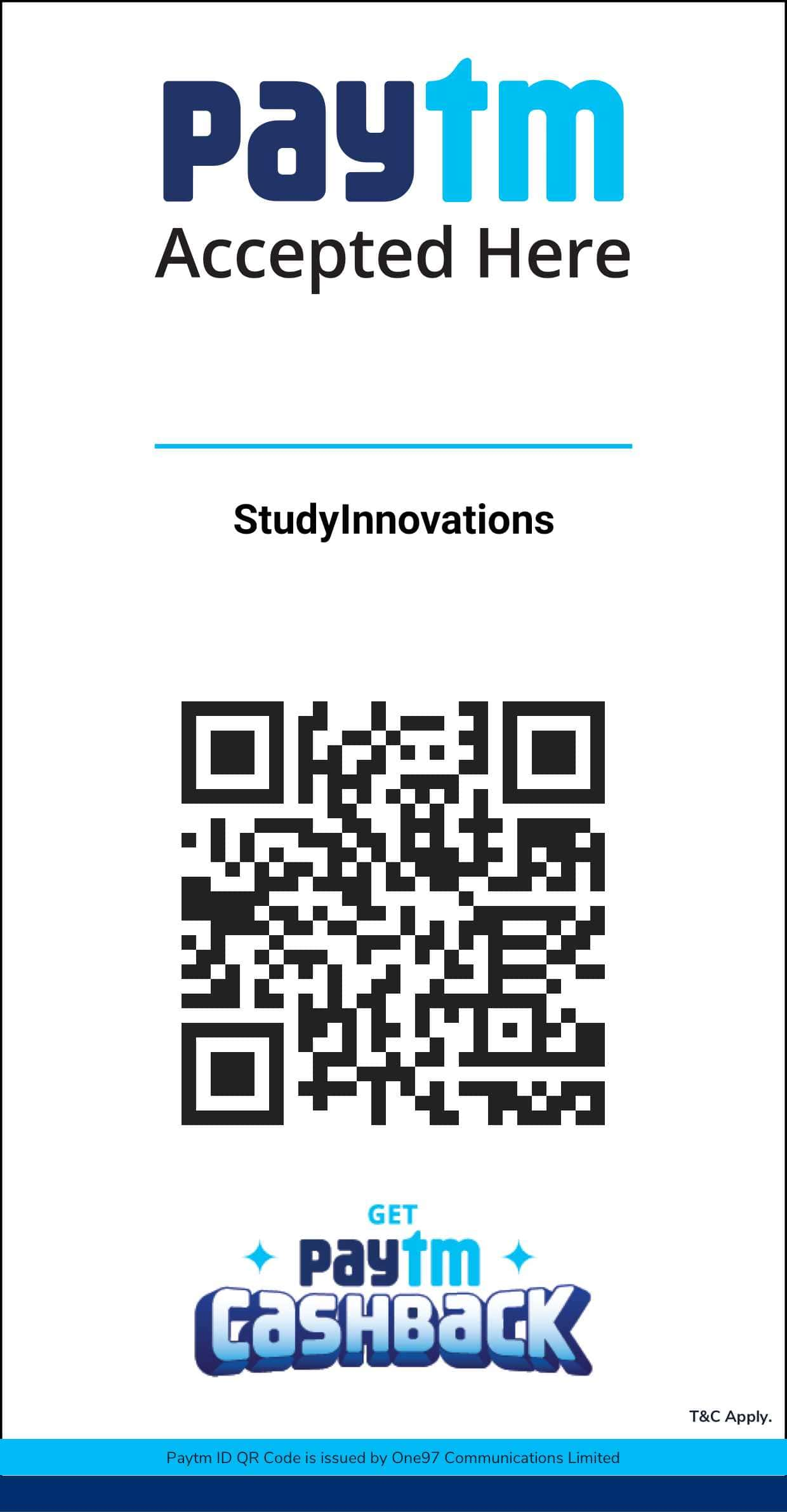 Study Innovations Paytm-Business-App-QR-Code-Linked-to-Bank-Account